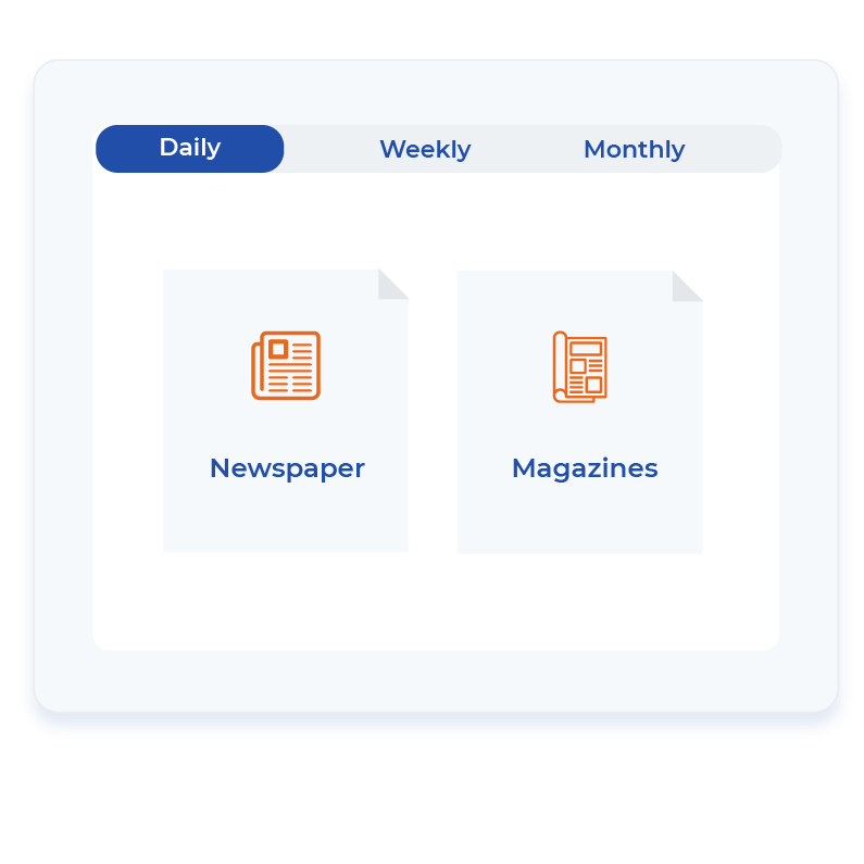 680+ daily, weekly and monthly publications-1