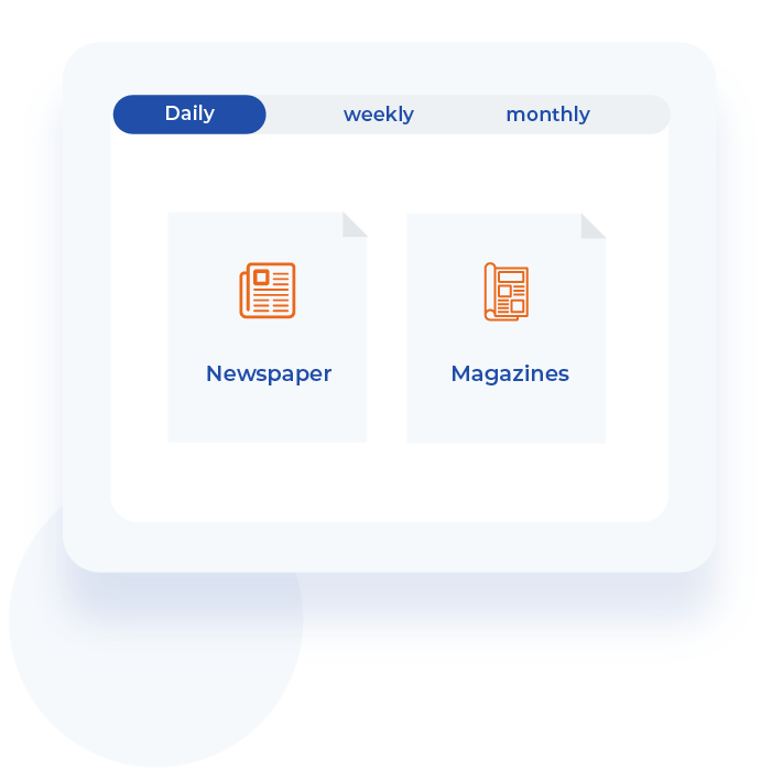 680+ daily, weekly and monthly publications